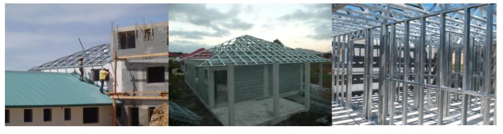 La Pose de charpente de toiture sur une construction traditionnelle