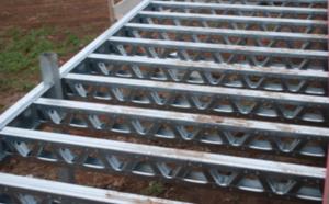 La construction de plancher